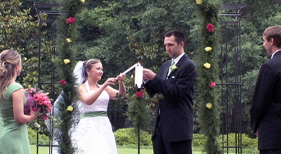 wedding video - Furman University